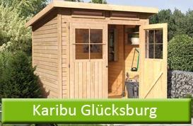 Karibu Gartenhaus Glücksburg