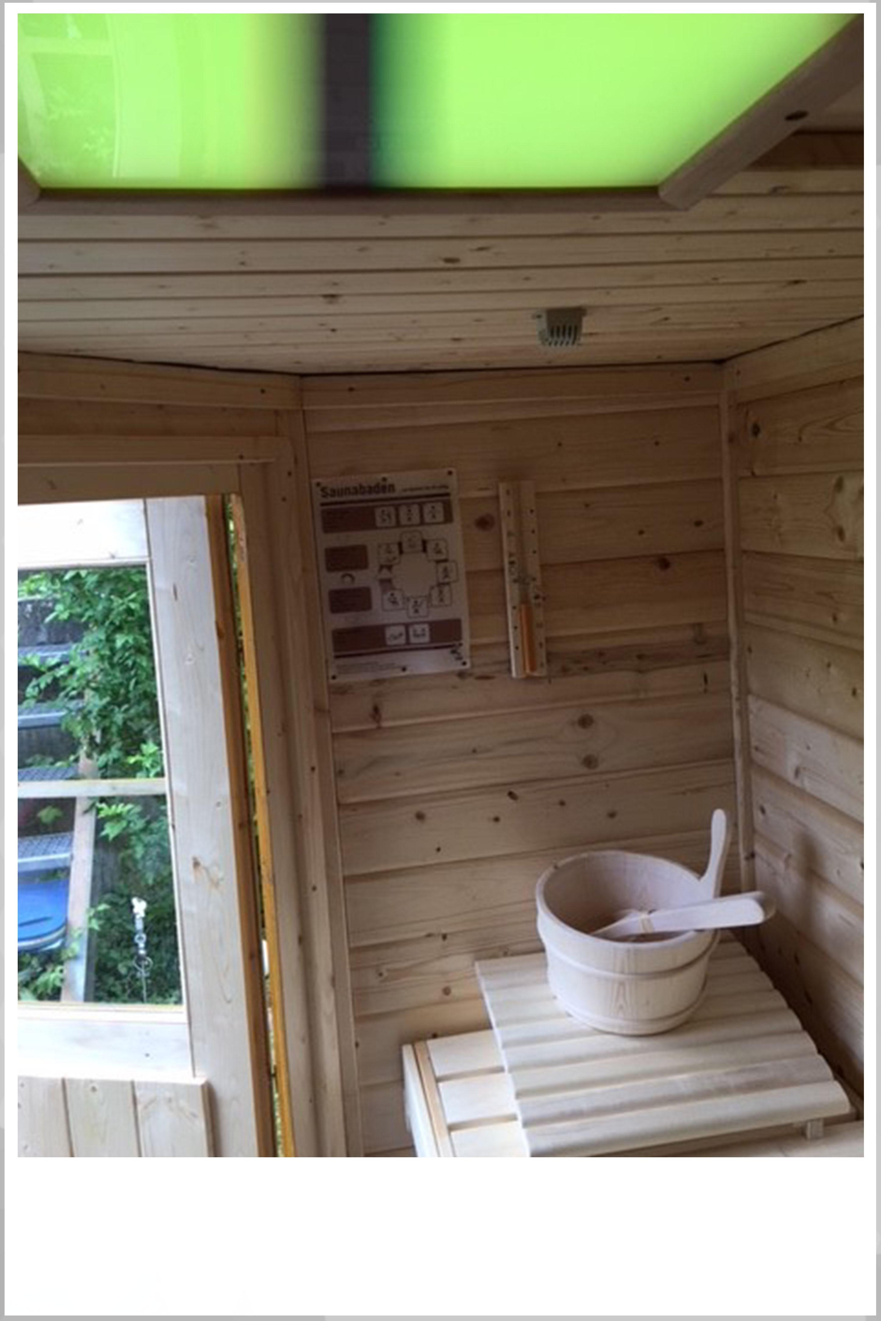 Karibu sauna erfahrung interesting plug play sauna karibu for Karibu gartenhaus erfahrung