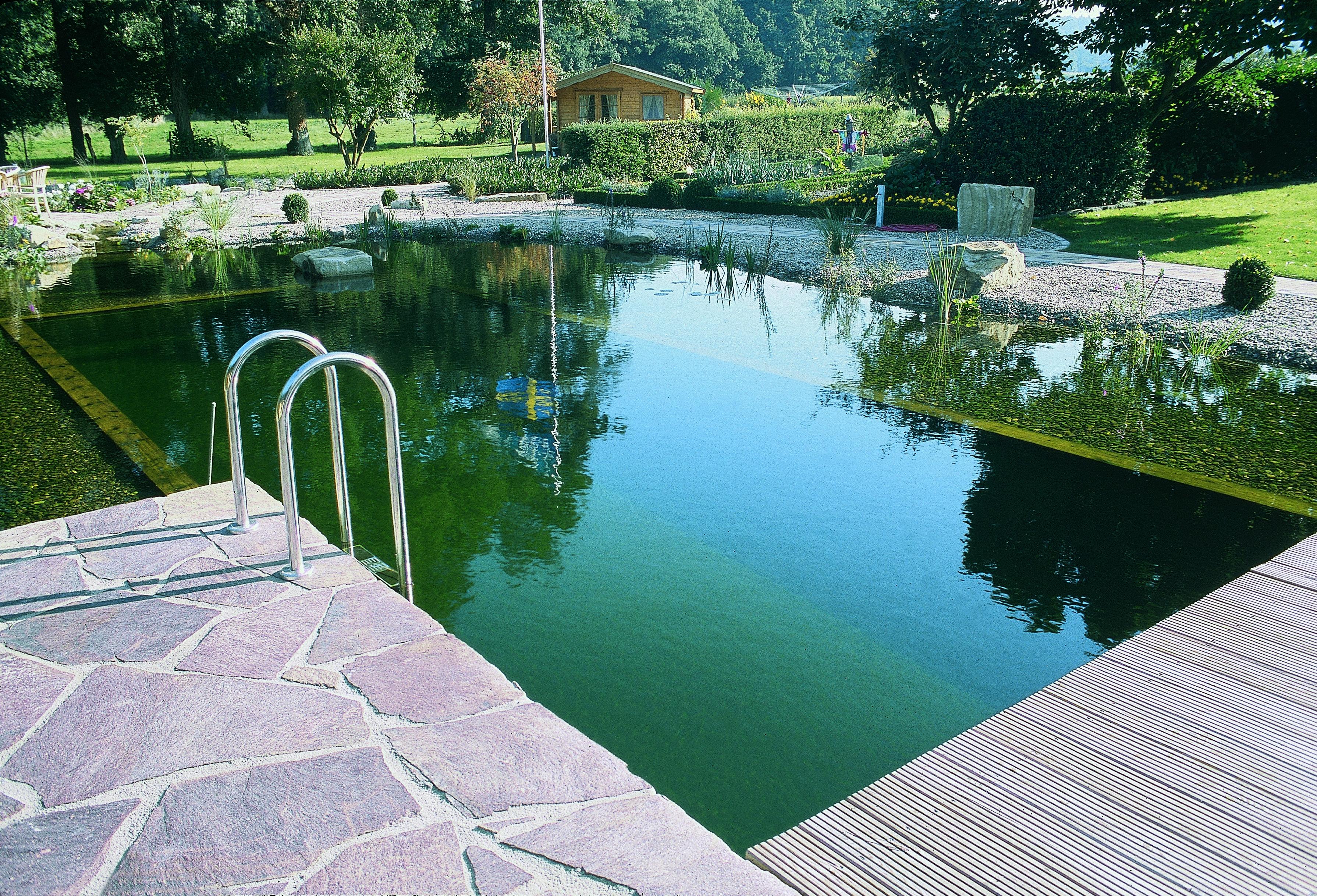 schwimmteich bauen leicht gemacht | oase-teichbau.de