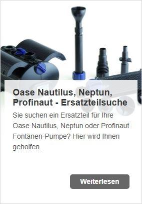 Neuer Name gleiche Qualität: Oase Nautilus, Neptun und Profinaut werden zu Aquarius | www.oase-teichbau.de