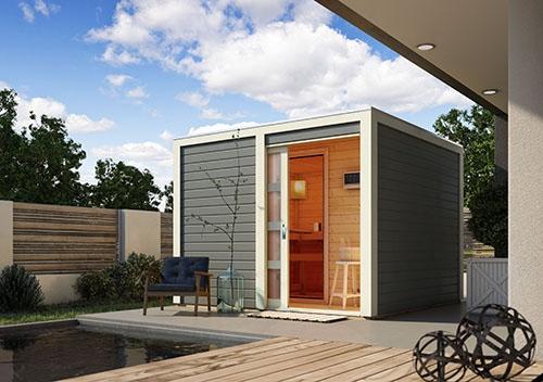 ideal f r sauna fans eine eigene sauna zu hause. Black Bedroom Furniture Sets. Home Design Ideas