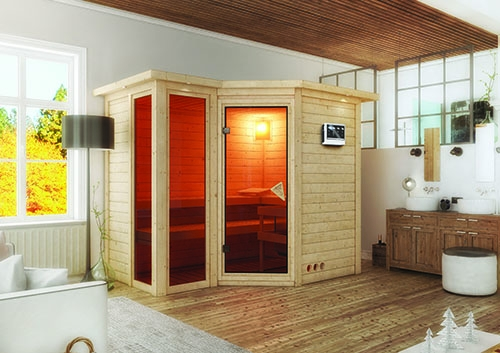 ideal f r sauna fans eine eigene sauna zu hause. Black Bedroom Furniture Sets. Home Design Ideas