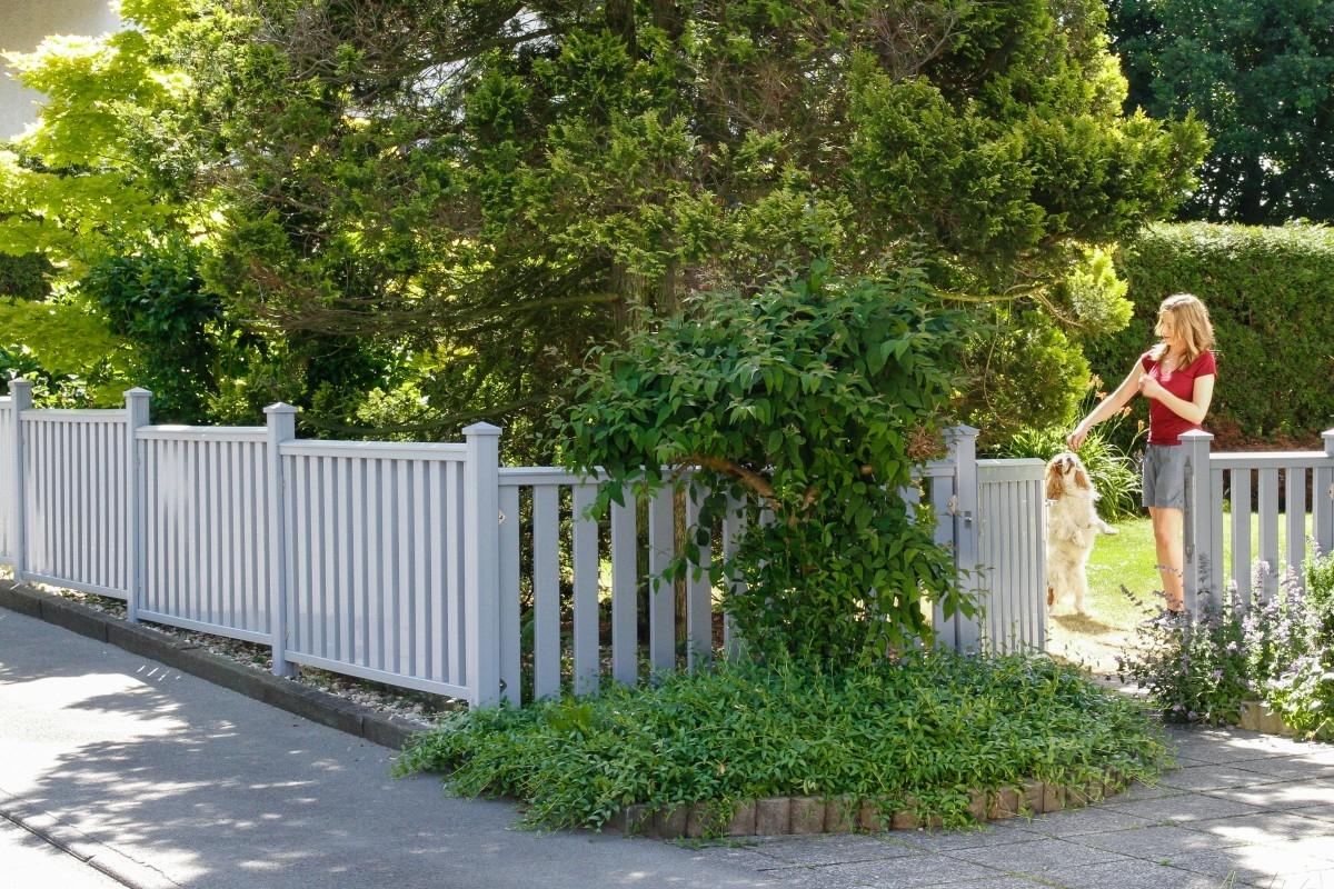 mehr als nur deko ein vorgartenzaun mein. Black Bedroom Furniture Sets. Home Design Ideas
