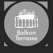 Nicht für die Anwendung auf Balkon- und Terrasse geeignet