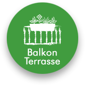 Für die Anwendung auf Balkon- und Terrasse geeignet