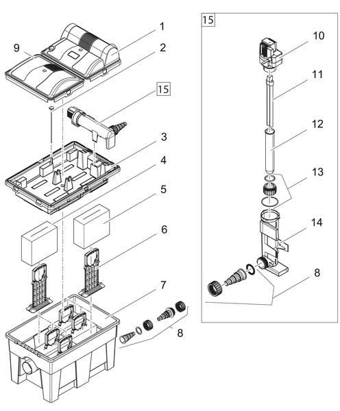 Oase BioSmart Set 14000 Ersatzteile