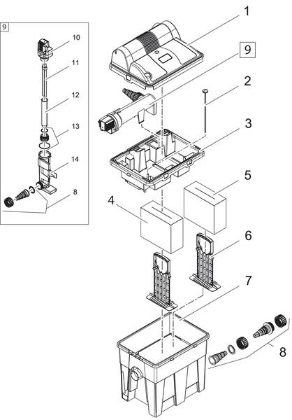 Oase BioSmart Set 7000 Ersatzteile