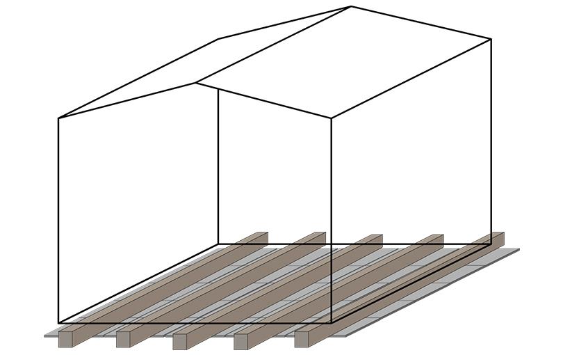 plattenfundament schritt f r schritt anleitung. Black Bedroom Furniture Sets. Home Design Ideas