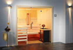 Sauna auf Maß