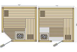 Sauna Grundrissbeispiele