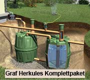 Graf Garantia Erdtank Herkules Komplettpaket